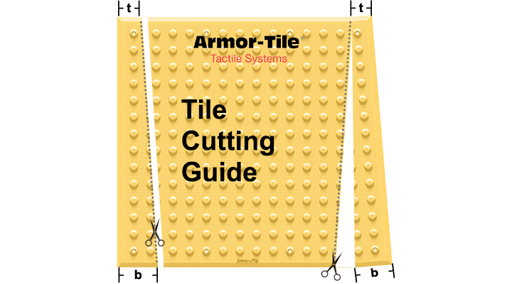 Armor-Tile Cutting Guide