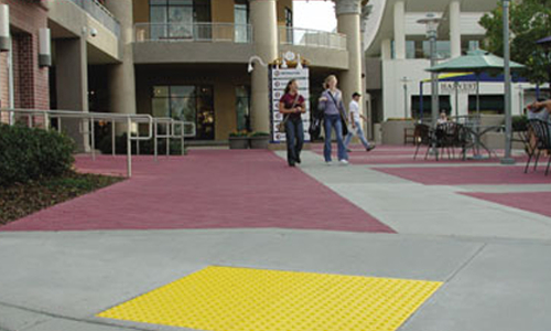Cast in Place, Ramp for Handicap