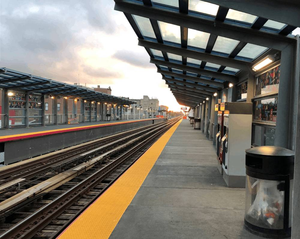 Safer Truncated Domes installed in train Station