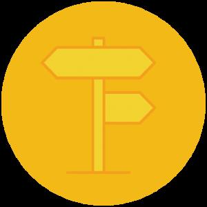 Visual Path-marking Clues